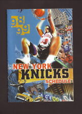New York Knicks--1998-99 Pocket Schedule--Budweiser