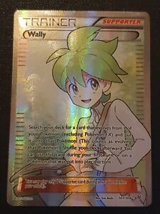 Pokemon card Wally Trainer Supporter 107/108 Roaring Skies  Excellent