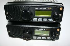 Lot of 2 Motorola XTL1500 VHF,  P25 Trunking, P25 Conventional, ADP encryption