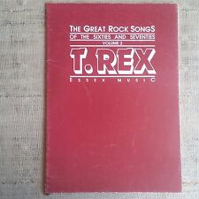 T. Rex - The Great Rock Songs of the Sixties and Seventies volume 2 - Songbook