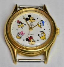 VTG Lorus Watch V515-6080 Disney Mickey Donald Pluto Minnie Daisy Goofy Dial