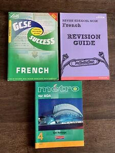 French GCSE= LETTS FRENCH SUCCESS. Metro For Aqa. & Pearson Revision Guide