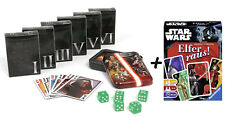 Star Wars Playing Cards Collector's Set + Elfer Out! Card Game Playing Cards