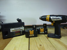 "Panasonic EY6432 Drill, 1/2"" Chuck, 2 15.6V 3.5A Batteries and EY0110 Charger"