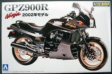 2002 Kawasaki GPZ 900 R Ninja, 1:12, Aoshima 042878