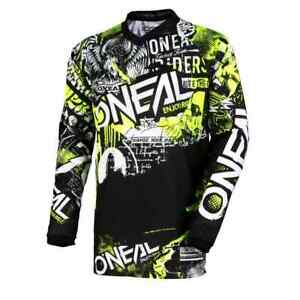O'Neal Element Attack MX Youth Off Road Dirt Bike ATV Motocross Jerseys