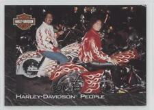 1994 Skybox Harley-Davidson #48 People Matching Paint Non-Sports Card 0w6
