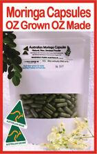 MORINGA CERTIFIED AUSTRALIAN GROWN, MADE 255-300 caps.Cairns Grown