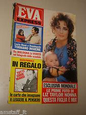 EVA=1972/4=LIZ TAYLOR=MASSIMO INARDI=MODUGNO=TWIGGY=DELIA BOCCARDO=GIANNA SERRA