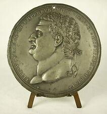 Médaille XIX Empereur Titus Tite Vespasien mort l'an 81 Jésus Christ  98mm medal