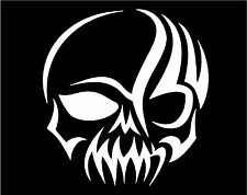 Tribal Gothic Skull Decal car truck SUV motorcycle laptop vinyl sticker graphic