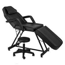 Massage Bed Chair Beauty Equipment Spa Tattoo Salon Hydraulic Stool Black