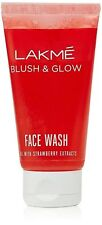 2 X Lakme Blush & Glow Face Wash 50gm (strawberry extracts) HALLOWEEN