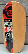 "New Morey Wooden Skim Skate 42""X17"" New"