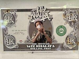 RAWTHENTIC Well-loved Wiz Khalifa Rolling Tray - 10.5″ x 6.75″