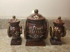 Coffee Grinders Instant Coffee Salt & Pepper Shaker Set Ceramic