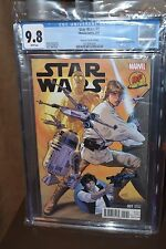 Star Wars #1 Dynamic Forces Greg Land Variant CGC 9.8
