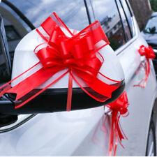 20PCS Organza Florist Pull Bows Ribbon Wedding Car Decor Gift Packaing
