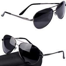 Retro Polarized Lens Sunglasses Mens Women Outdoor Driving Metal Glasses