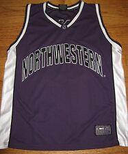 Men's NORTHWESTERN Wildcats basketball jersey tank size XL Colosseum #30 purple