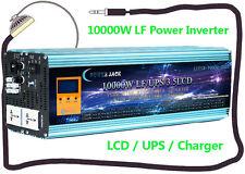 40000W Peak 10000W LF Pure Sine Wave 12V DC/110V AC 60Hz Power Inverter LCD/UPS