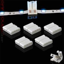 🔴 5x LED Verbinder Zubehör Adapter Verteiler Verlängerung 4 Pin 10 mm RGB Strip