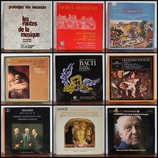 92 VINYLES LP MUSIQUE CLASSIQUE AUX CHOIX D6