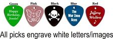 Engraved Personalized Metal Guitar Pick Necklace