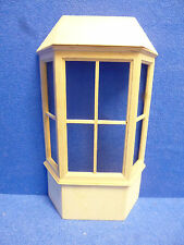 Dolls House 1/12 scale     Bay Window with Roof   DIY128