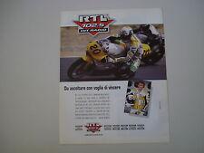 advertising Pubblicità 1992 RADIO RTL 102.5 e RENZO COLLEONI