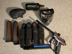 Complete Paintball Gun Elite Bundle (Lightly Used/New) CUSTOM AZODIN BLITZ 3