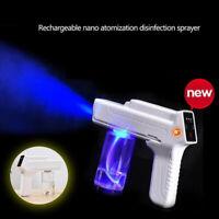 USB Rechargeable Nano Sanitizer Sprayer Disinfectant Fogger Mister Spray Gun