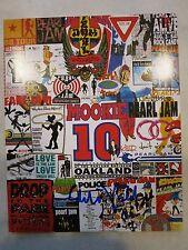 Eddie Vedder signed Fan Club flyer coa + Proof! Pearl Jam autographed HOF LP
