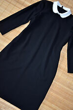 HALLHUBER schönes Etuikleid Kleid Gr. 36 / UK 8 neu Schwarz