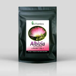 Albizia Extract Powder 50g ( 10:1 ) , High Strength, for depression / anxiety