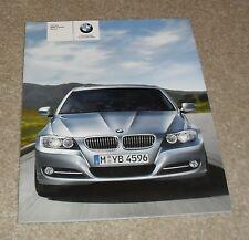 BMW SERIE 3 opuscolo di E90 2008 320i 325i 335i 318d 320d 325d 330d 335d M Sport
