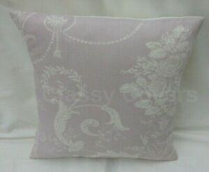 "Laura Ashley Designer Cushion Cover ""JOSETTE"" Amethyst Fabric Various Sizes"