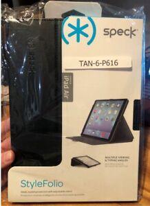 iPad Air Speck StyleFolio Case - Black Slate - SPK-A2137 - Brand New in Retail