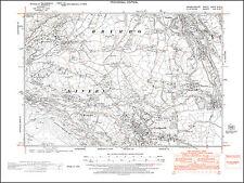 Coedpoeth, Minera, Brymbo, old map Denbigh 1948: 28NW repro Wales