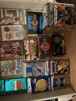 LOT OF UNOPENED Basketball PACKS UNOPENED BASKETBALL CARDS Estate Sale READ!!!