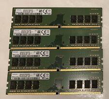 Samsung 32GB (4X8GB) DDR4 2400T (PC4 19200) Memory (M378A1K43CB2-CRC)