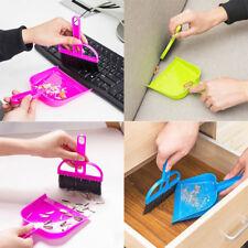 Mini Car Keyboard Desktop Sweep Cleaning Brush Small Broom Dustpan Desktop Set
