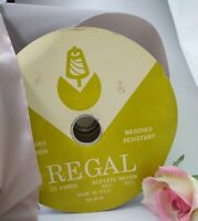 "Vintage REGAL Luxury Ribbon Weather Resistant Acetone Rayon 2 1/2"" wide Velvety"