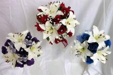 Fiori, petali e ghirlande viola senza marca per il matrimonio