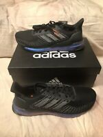 Adidas Solar Boost 19 Space Race Black EG2363 Mens Athletic Running Shoes