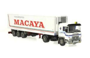 1/43 CAMIÓN TRUCK TRAILER PEGASO TECNO 1234T TRANSPORTES MACAYA 1986