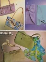 McCalls Sewing Pattern 4852 Six Handbags Hats Uncut Accessories Fashion