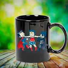 Batman, Superman, Wonder Woman coffee mug, tea mug, birthday present for DC fans