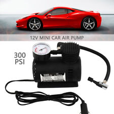 12V 300PSI Electric Air Compressor Portable Pump Mini Inflator Tyre Car Van Bike