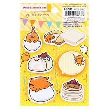 2016 Sanrio Gudetama Egg Mini Post It Memo Stationery ~ New